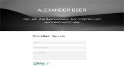 Preview of alexanderbeer.net