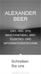 Mobile Preview of alexanderbeer.net