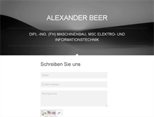Tablet Preview of alexanderbeer.net